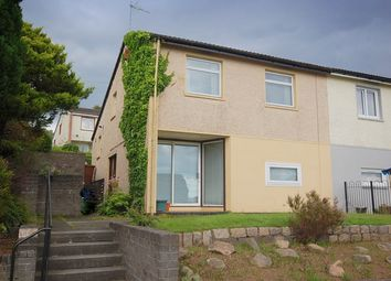 Thumbnail 3 bedroom semi-detached house for sale in Perth Crescent, Mountblow, Clydebank, West Dunbartonshire