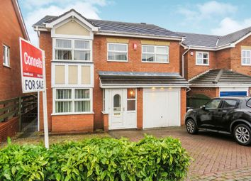 Thumbnail 4 bed detached house for sale in Shipton Close, Dudley
