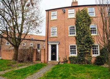 Thumbnail 4 bed end terrace house for sale in The Old Dairy Yard, Thames Street, Louth, Lincolnshire