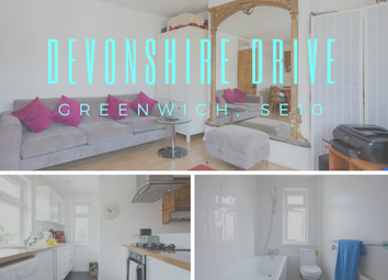 Thumbnail 2 bed flat to rent in Devonshire Drive, Greenwich, London