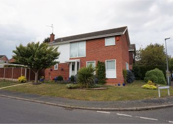 Thumbnail 4 bedroom detached house for sale in Denmead Close, Norwich