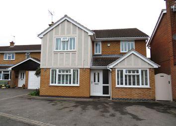 Thumbnail 4 bed detached house for sale in Faires Close, Borrowash, Derby