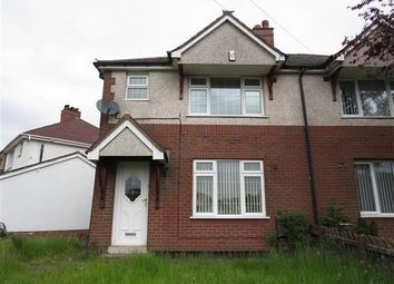 Thumbnail 3 bedroom property to rent in Broadhurst Green, Hednesford, Cannock