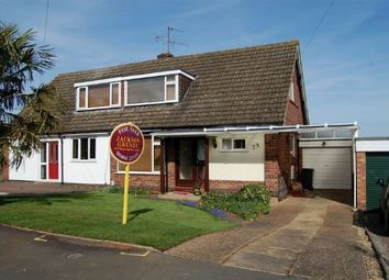 Thumbnail 3 bedroom semi-detached house for sale in Meshaw Crescent, Abington Vale, Northampton