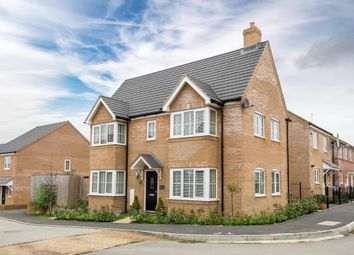 Thumbnail 3 bed detached house for sale in Harris Close, Newton Leys, Milton Keynes, Buckinghamshire