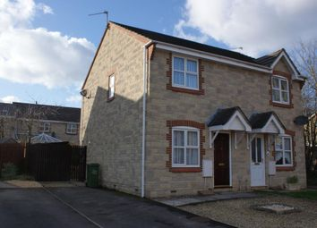 Thumbnail 2 bed semi-detached house to rent in Chester Way, Chippenham