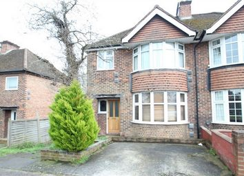 Thumbnail 6 bed semi-detached house for sale in Ash Grove, Guildford, Surrey