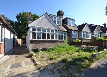Thumbnail Semi-detached house for sale in Queenswood Avenue, Wallington, Surrey