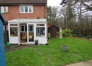 Thumbnail 2 bed semi-detached house for sale in Sea King Crescent, Highwoods, Colchester