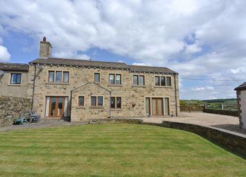 Thumbnail 4 bed cottage for sale in Green Balk Lane, Little Lepton, Huddersfield