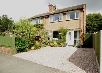 Thumbnail 3 bed semi-detached house for sale in East Lane, Cuddington, Northwich, Cheshire