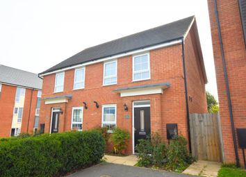 Thumbnail 3 bed semi-detached house to rent in Trevelyan Way, Old Wolverton
