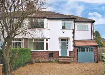 Thumbnail 5 bed semi-detached house for sale in Oakwood Avenue, Wilmslow
