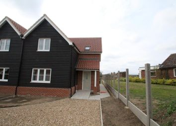 Thumbnail 3 bed semi-detached house to rent in Chapel Lane, Great Glemham, Saxmundham