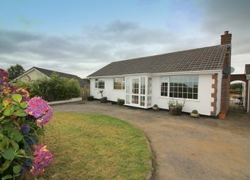 Thumbnail 4 bed detached bungalow for sale in Morview Road, Widegates, Looe
