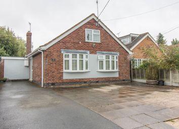 Thumbnail 4 bed detached bungalow for sale in Hillmorton Lane, Lilbourne