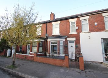 Thumbnail 2 bedroom terraced house for sale in Longford Road, Chorlton Cum Hardy, Manchester