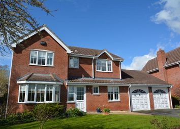 Thumbnail 4 bed detached house for sale in Dorchester Way, Belmont, Hereford.