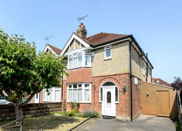 Thumbnail 3 bed semi-detached house to rent in Luccombe Road, Upper Shirley, Southampton, Hampshire