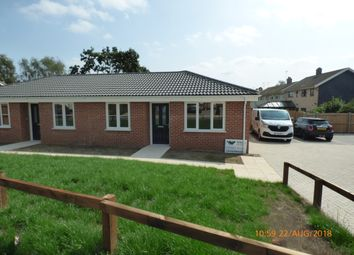Thumbnail 2 bed semi-detached bungalow to rent in School Lane, Hales, Norwich