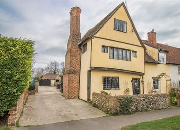 Thumbnail 4 bed cottage for sale in Chapel Road, Ridgewell, Halstead