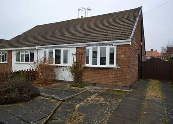 Thumbnail 2 bedroom semi-detached bungalow for sale in Cheshire Road, Leicester