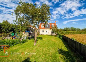 3 bed detached house for sale in Dunedin Cottages, Bures Road, West Bergholt, Colchester CO6
