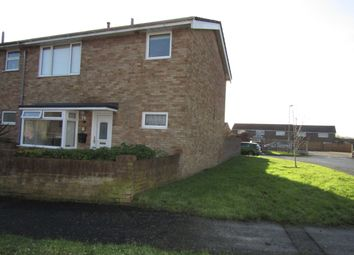 Thumbnail 3 bedroom end terrace house for sale in Rowan Road, Denvilles, Havant