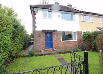 Thumbnail 3 bed semi-detached house for sale in Woodstock Crescent, Woodley, Stockport