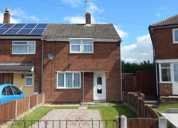 Thumbnail 2 bed semi-detached house to rent in Poxon Road, Walsall Wood