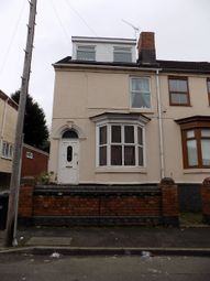 Thumbnail 5 bed end terrace house to rent in Vicarage Road, Stourbridge