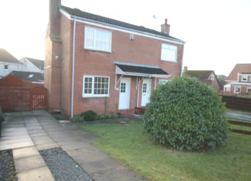 Thumbnail 2 bed semi-detached house to rent in Drumcoyle Drive, Coylton, Ayr