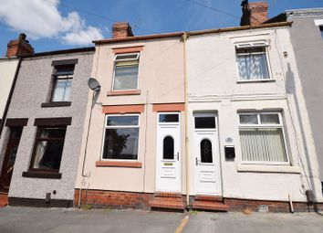 Thumbnail 2 bed terraced house for sale in Whitfield Road, Stoke-On-Trent