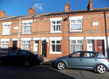 Thumbnail 3 bedroom terraced house for sale in Tudor Road, Leicester