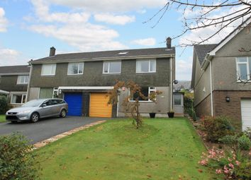 Thumbnail 4 bed semi-detached house for sale in Barton Close, Landrake, Saltash