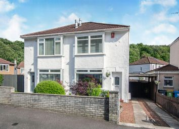 Thumbnail 2 bedroom semi-detached house for sale in Monteith Drive, Stamperland, Glasgow