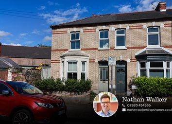 Thumbnail 3 bed end terrace house for sale in Rectory Road, Canton, Cardiff