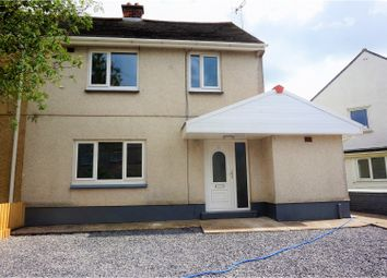Thumbnail 3 bed semi-detached house for sale in Brynhafod, Ammanford