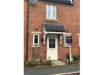 Thumbnail 2 bed terraced house for sale in Facers Lane, Scraptoft