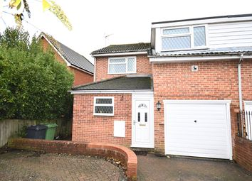 Thumbnail 3 bed semi-detached house to rent in Redwing Road, Clanfield, Waterlooville