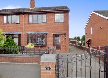 Thumbnail 3 bed semi-detached house for sale in Wood Street, Bignall End, Stoke-On-Trent