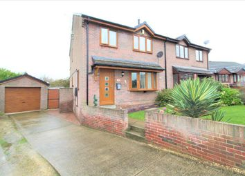 Thumbnail 3 bed semi-detached house for sale in Lesmond Crescent, Little Houghton, Barnsley, South Yorkshire