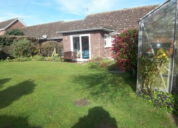 Thumbnail 2 bedroom semi-detached bungalow for sale in Mill Hill Drive, Halesworth