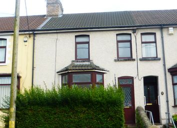Thumbnail 3 bed terraced house for sale in Bridgend Road, Llanharan, Pontyclun