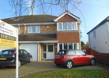 Thumbnail 4 bed semi-detached house for sale in Main Road, Orpington, Kent
