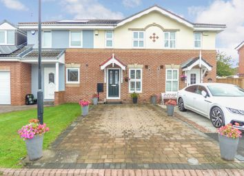 Thumbnail 2 bedroom terraced house for sale in Stagshaw, Killingworth, Newcastle Upon Tyne