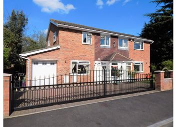 Thumbnail 4 bed detached house for sale in Studley Crescent, Longfield