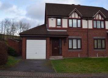 Thumbnail 3 bed semi-detached house to rent in Rochester Court, Horbury