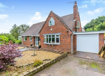 Thumbnail 4 bed bungalow for sale in Hollywood Lane, Crackley Gates, Leycett, Newcastle, Staffordshire