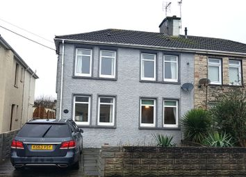 Thumbnail 3 bed semi-detached house for sale in Collwyn Road, Pyle
